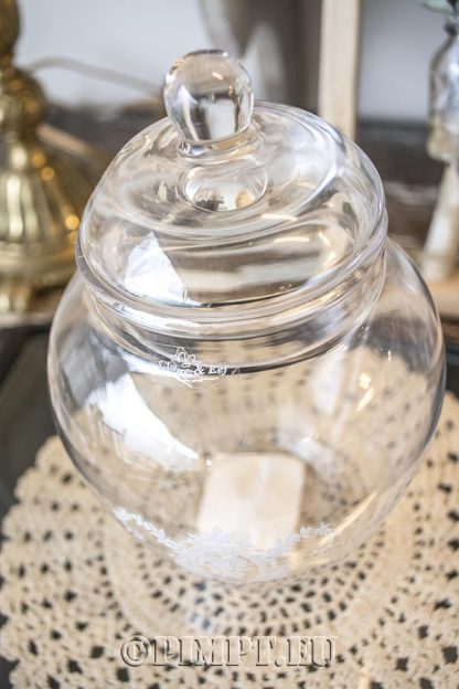 Glazen pot Clayre & Eef